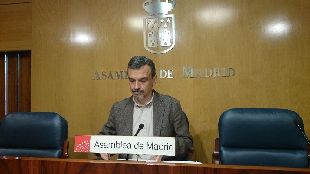 José Manuel López, de Podemos Madrid