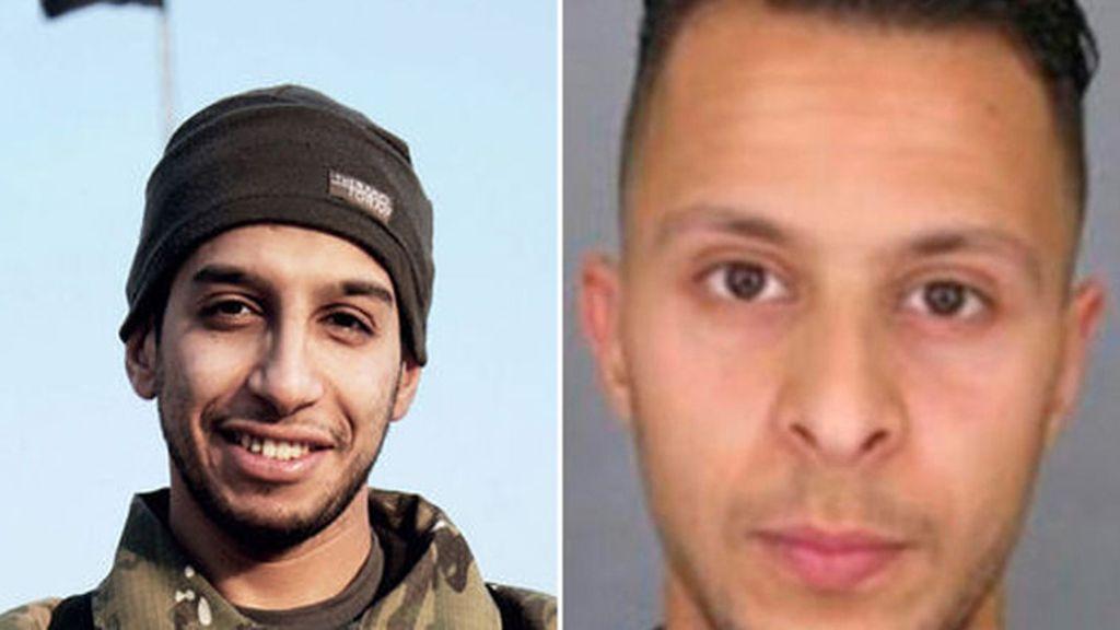 Abdelhamid Abaaoud y Salah Abdeslam