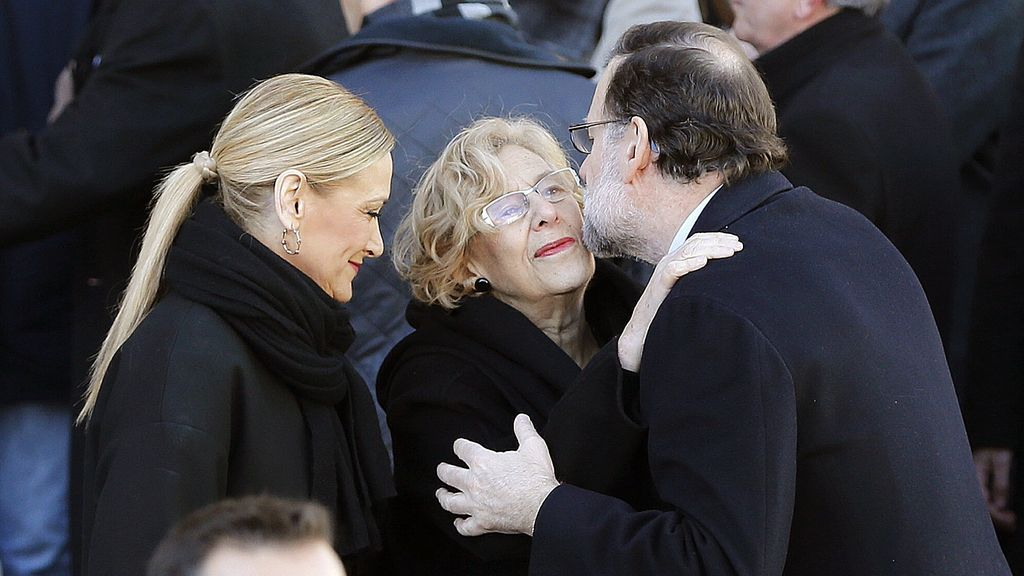 Rajoy, Carmena y Cifuentes...