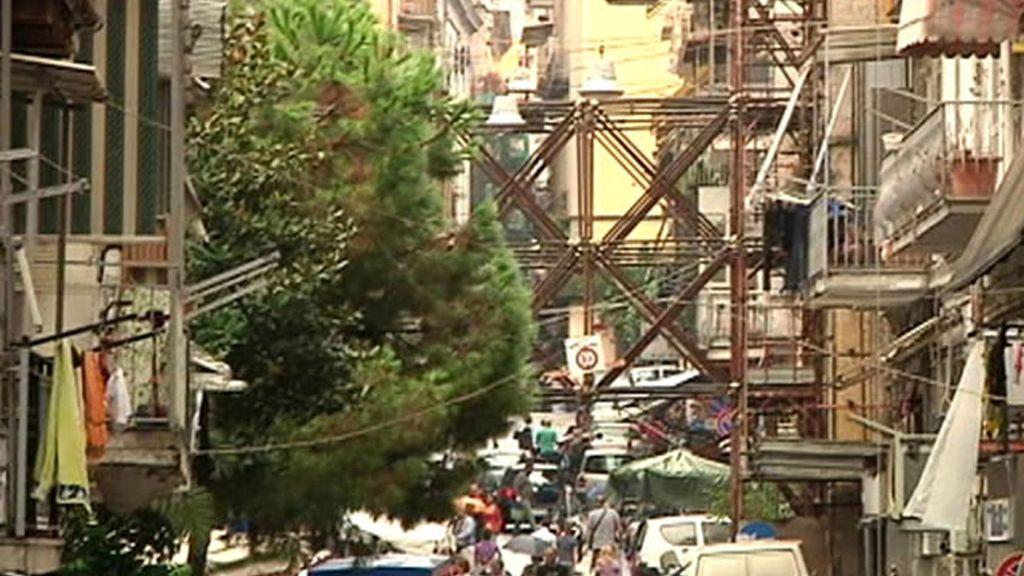 Las laberínticas calles del casco antiguo de Nápoles