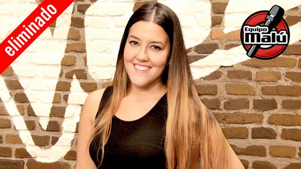 Alba Lucía, 22 años, equipo Bisbal | Robada por Malú | Eliminada