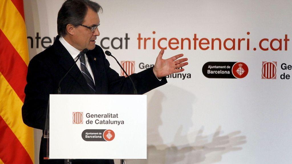 """Mas llama a los catalanes a superar el """"conflicto permanente"""" con España"""