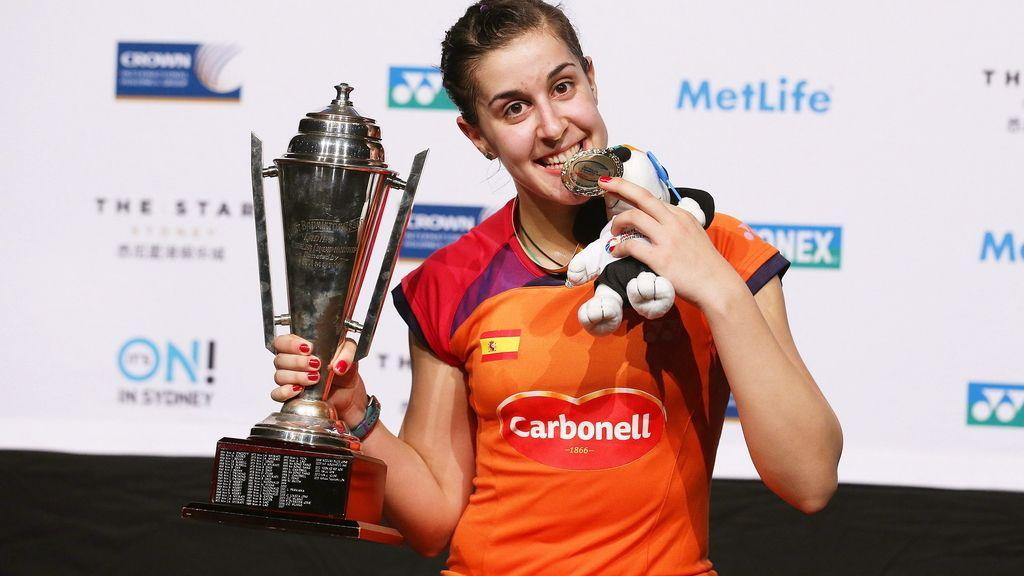 Carolina Marín, campeona del Open de Australia