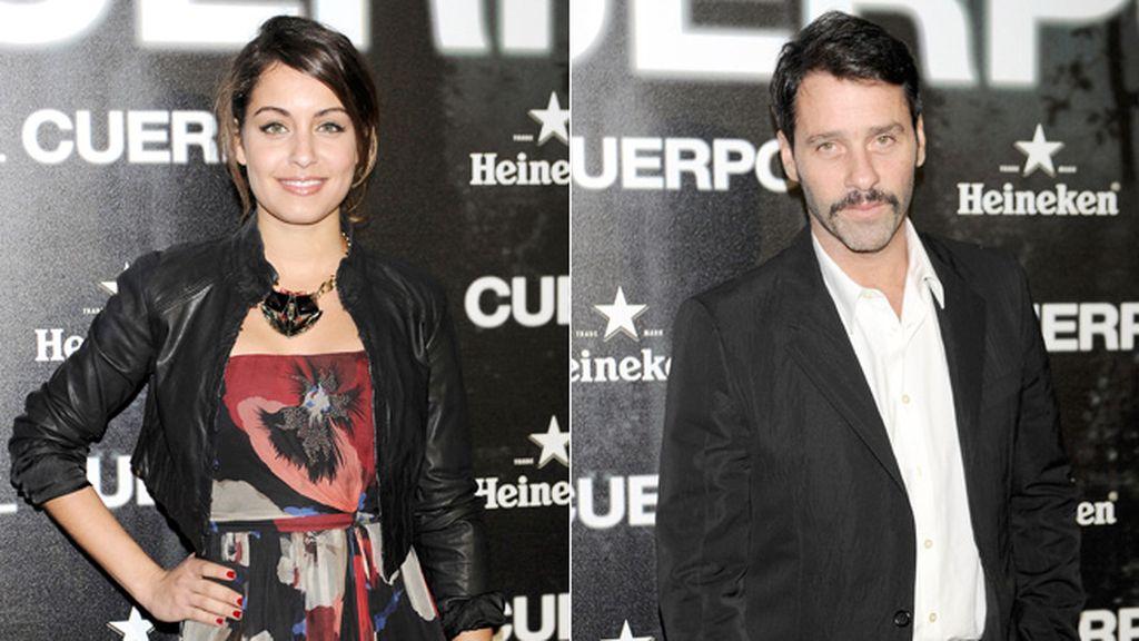 Hiba Aboukhris y Juan Pablo Shuk