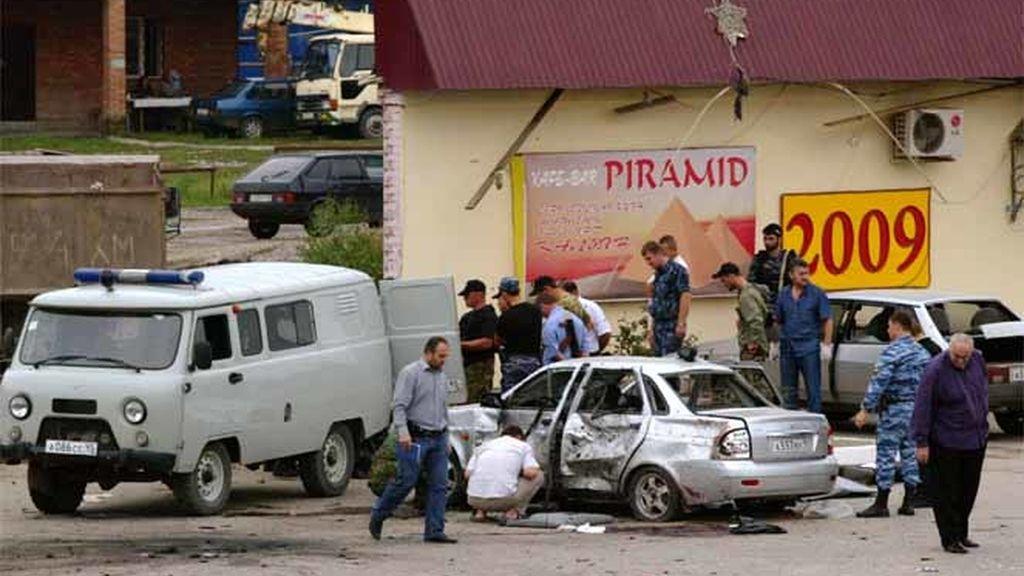 Atentado en Chechenia
