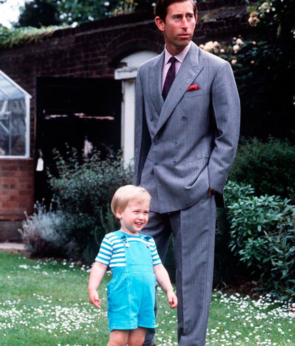 Cuando el Príncipe Guillermo era un niño
