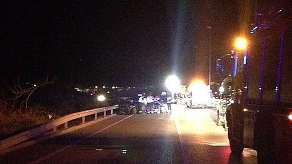 Fallecen dos personas y otras dos resultan heridas en un accidente en Jaén