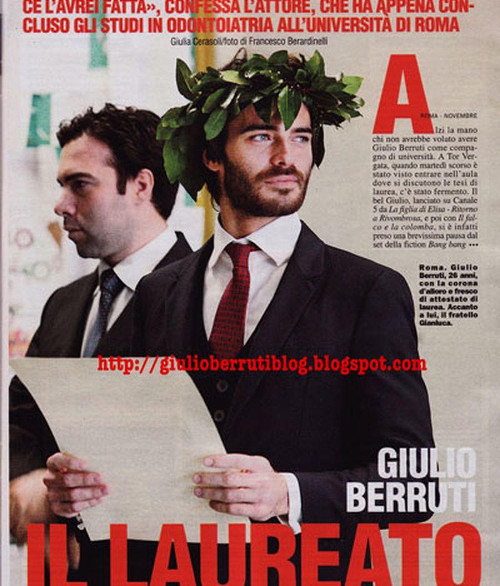 Giulio Berruti, ese hombre