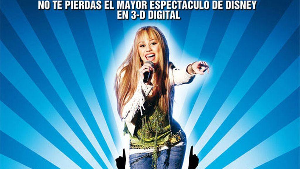 Cartel promocional de Hannah Montana