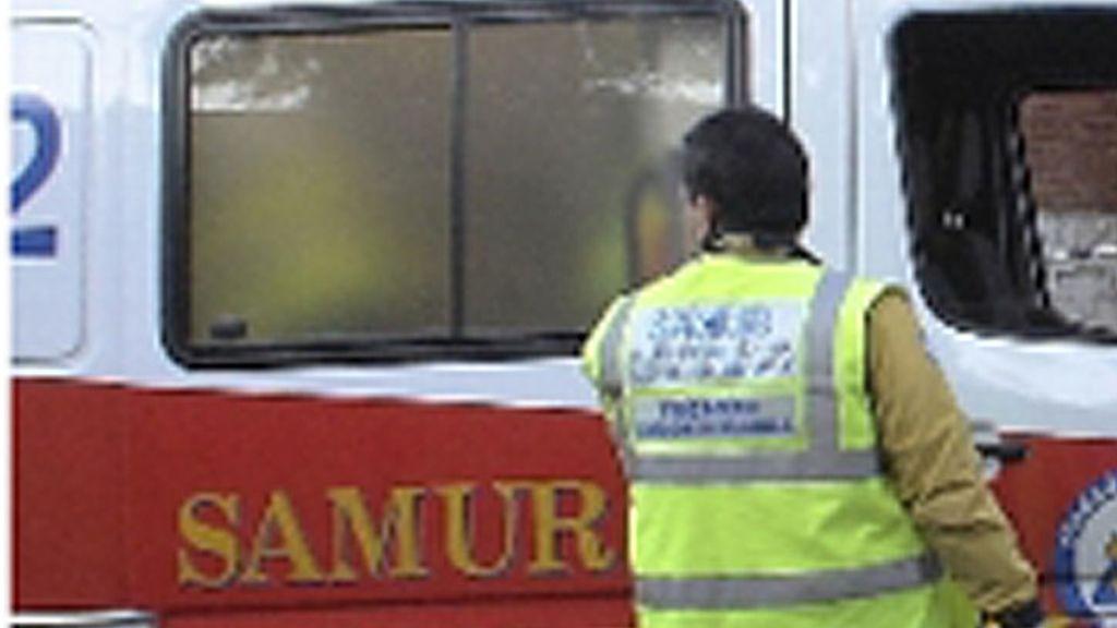 La ambulancia del Samur