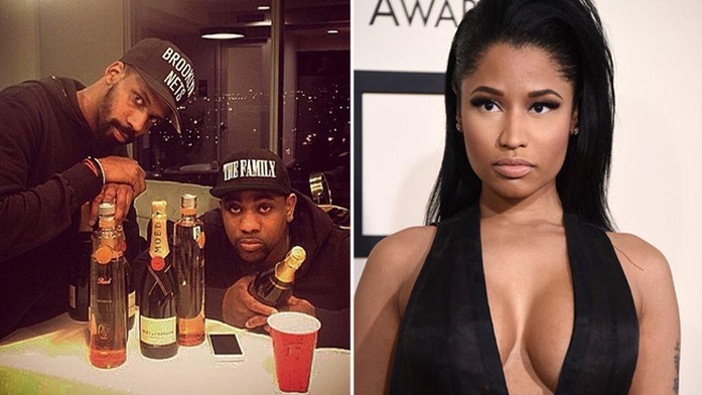 Dos miembros de la gira de Nicki Minaj, apuñalados