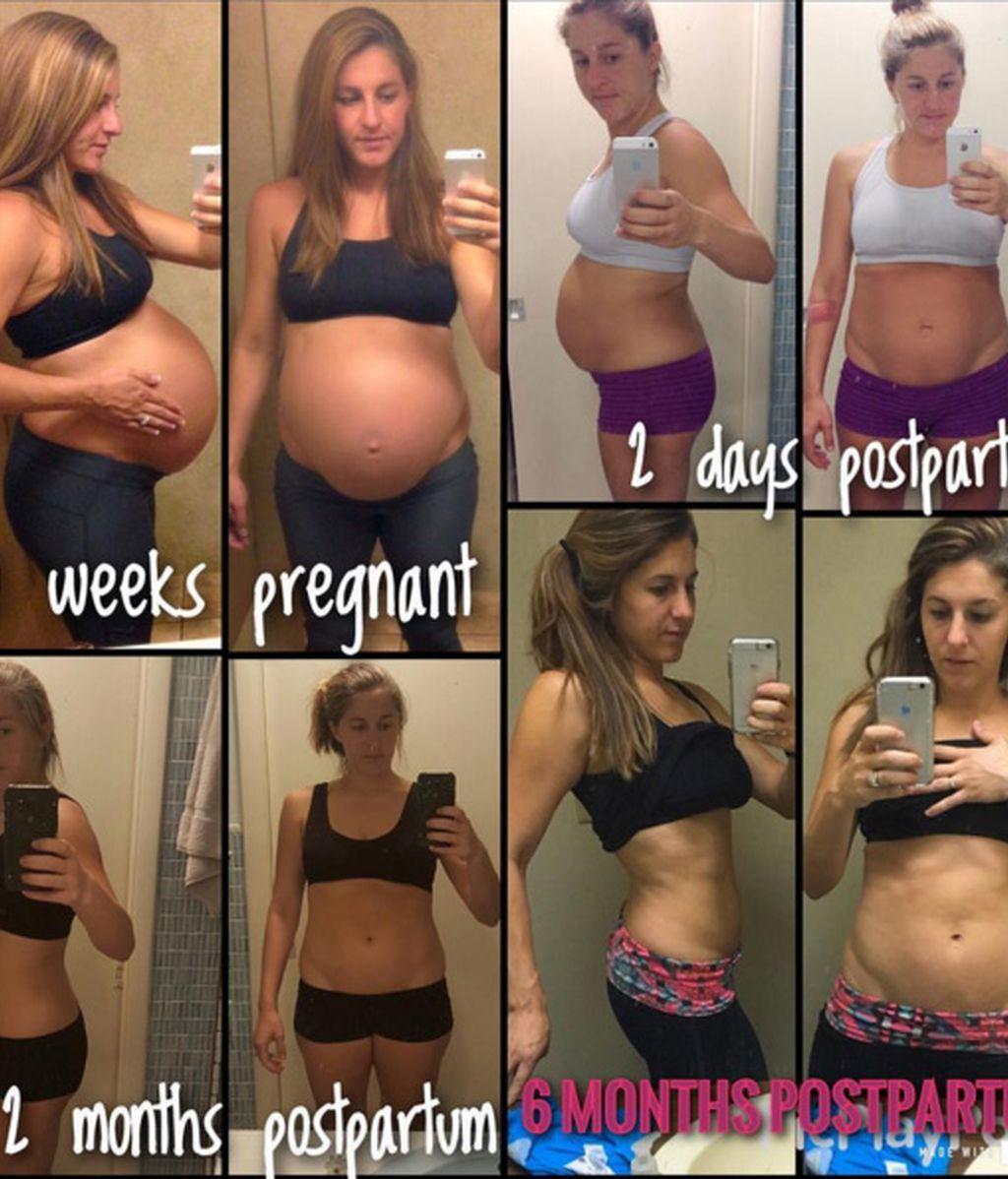 De dar a luz a un vientre perfecto en solo 6 meses