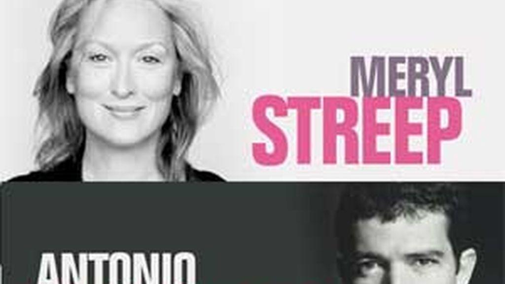 Banderas y Streep los galardonados de este año 2008. Video: Atlas