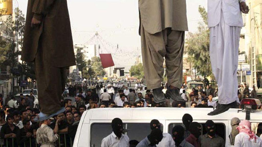 Ahorcados en Irán