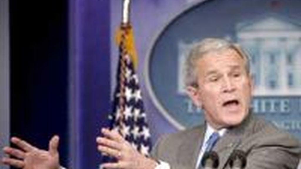 Bush indicó que Estados Unidos está gestionando un nuevo cese el fuego en la región, pero advirtió de que cualquier tregua debe respetarse en su totalidad.Foto archivo EFE
