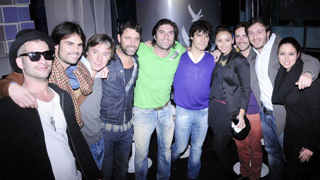 Amigos y celebrities, los famosos se lo pasaron en grande en la fiesta