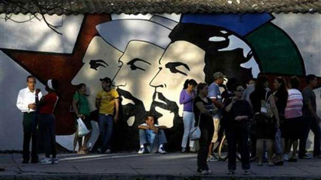 Los líderes de la Revolución