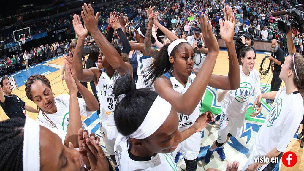 Anna Cruz hace historia al ganar el anillo de la WNBA con Lynx (15/10/2015)