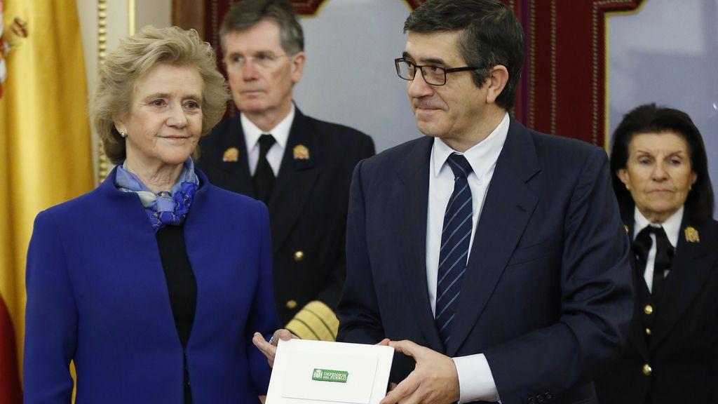Soledad Becerril en el Congreso de los Diputados
