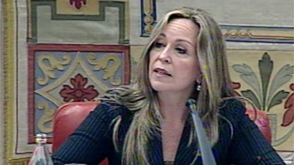 Trinidad Jiménez en el Congreso