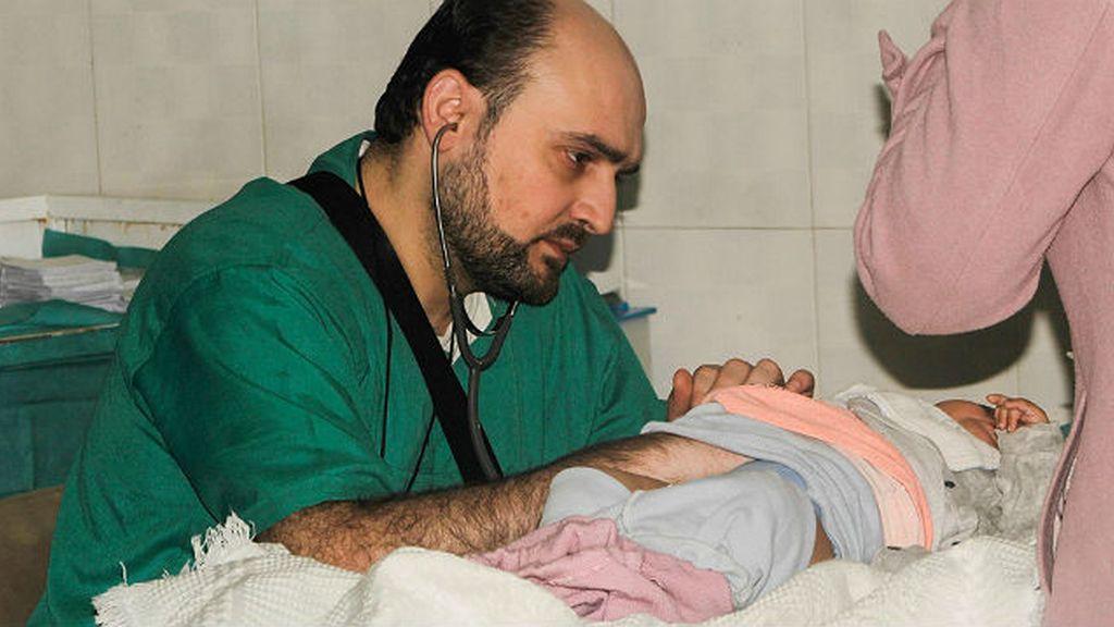 Mohammed Wasim Moaz pediatra Alepo, Siria
