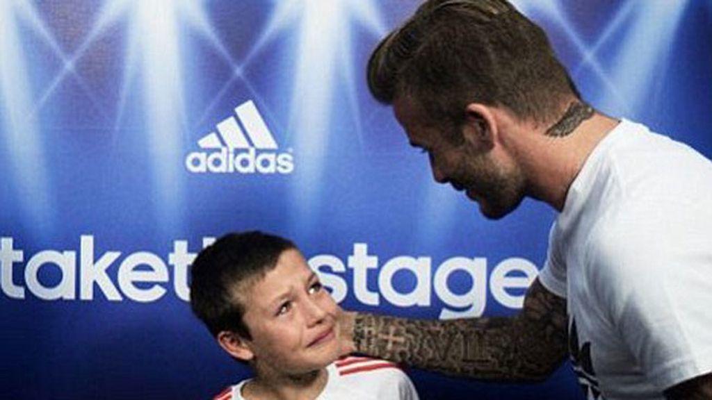 David Beckham para Adidas