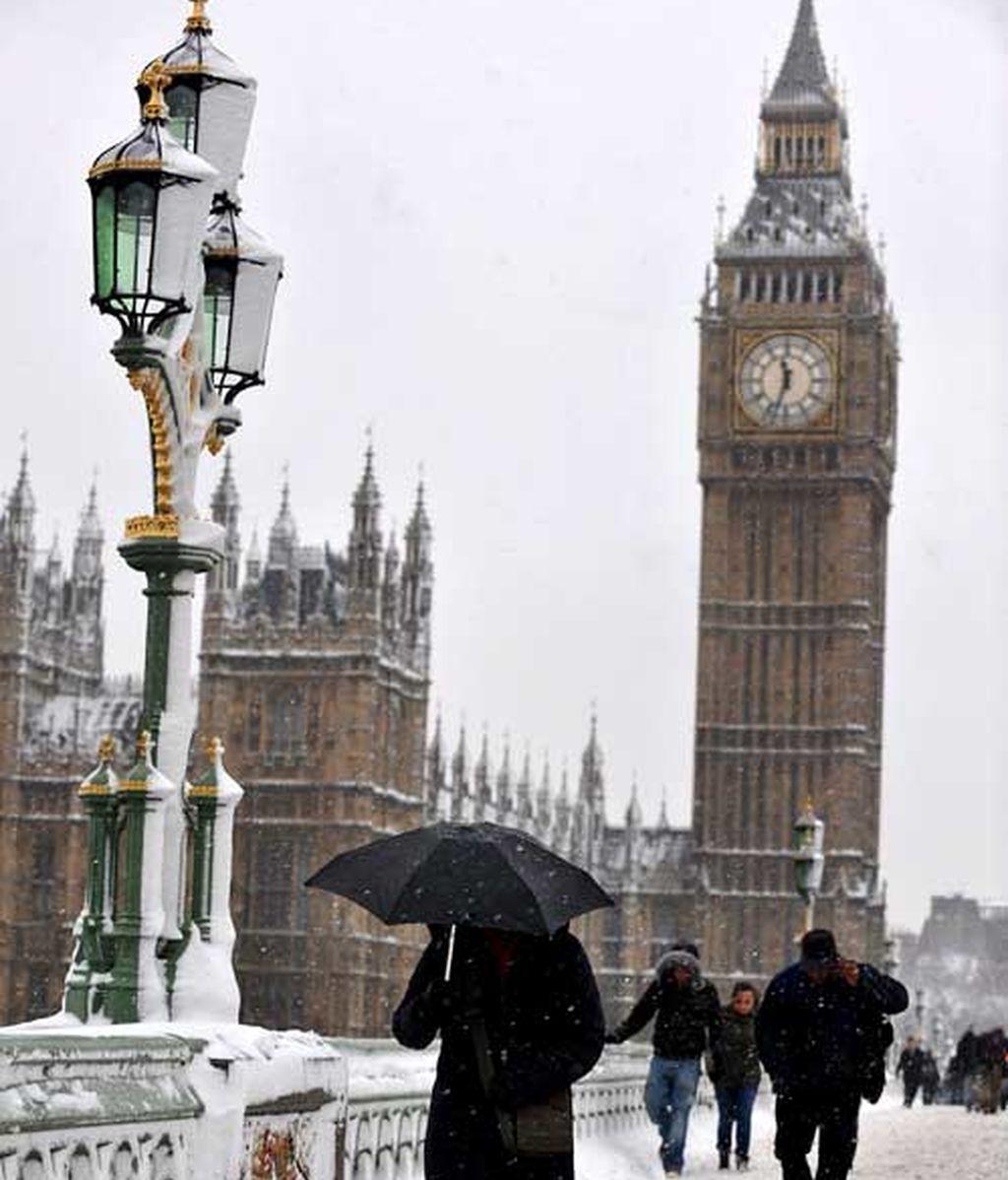 El temporal azota al Reino Unido