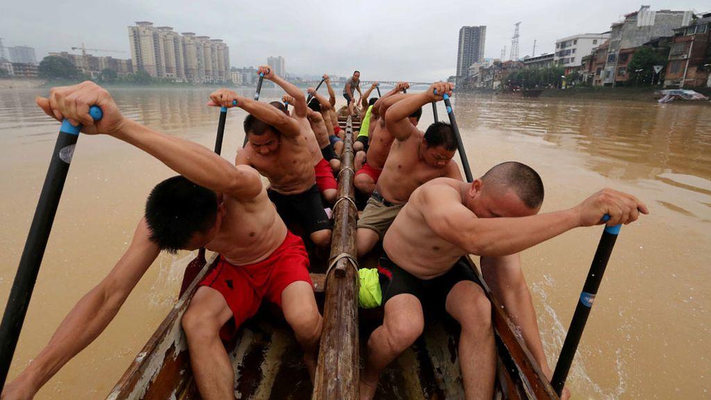 Deportistas se entrenan en China (15/06/2016)