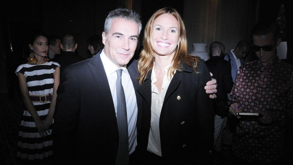 David Cantero posó con Elena Delgado