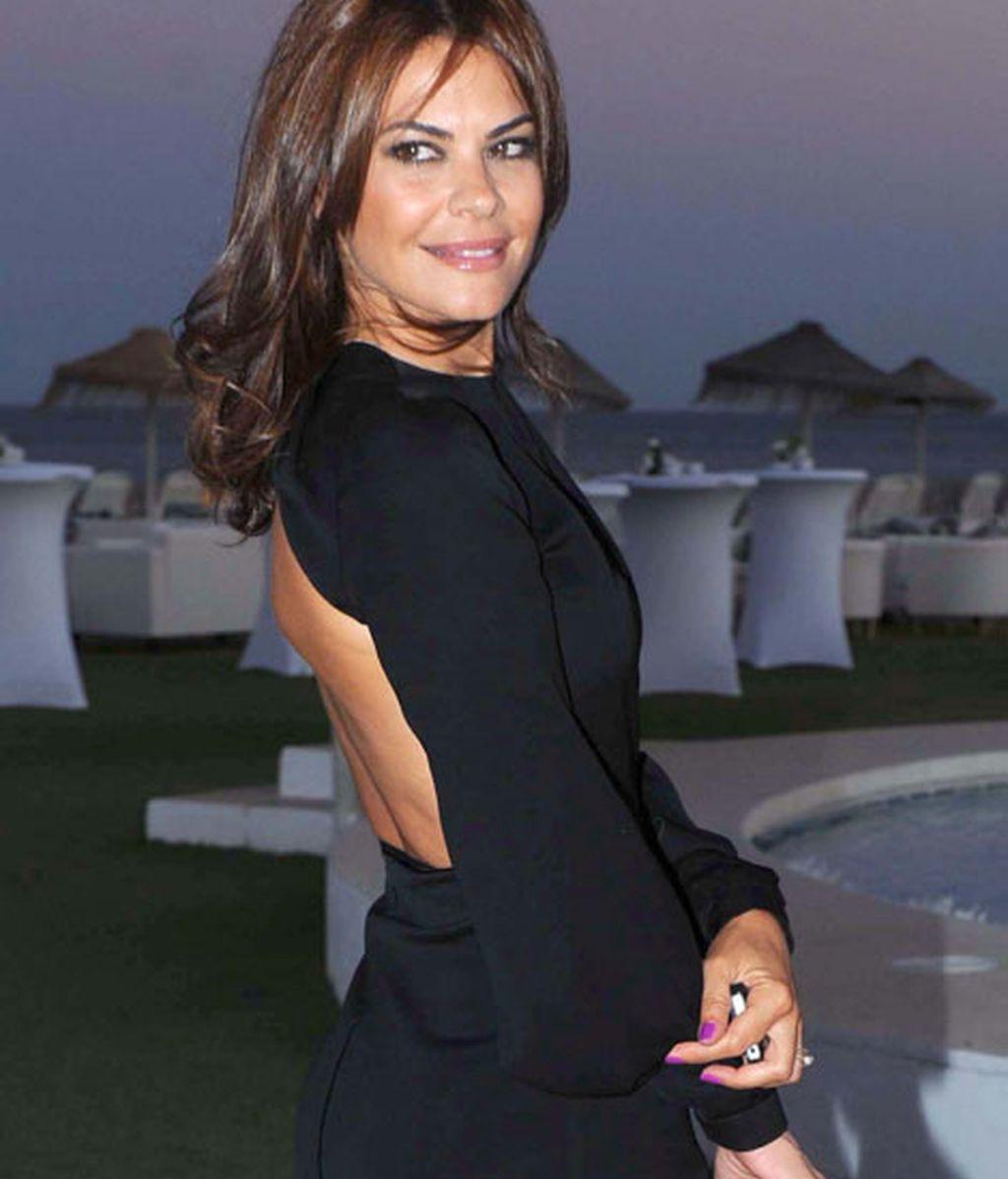 La modelo Maria José Suárez no quiso perderse el evento