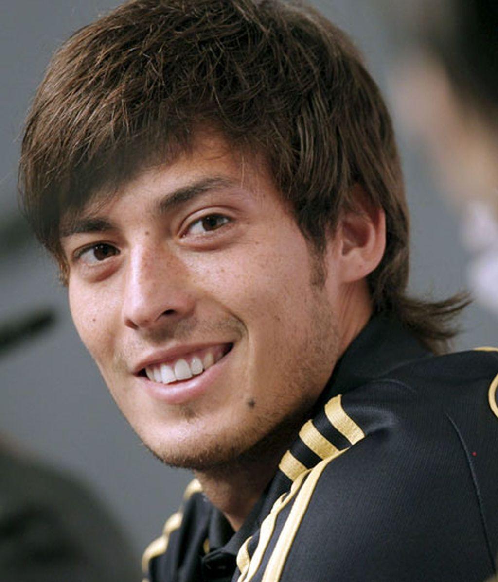 El jugador de la selección David Silva