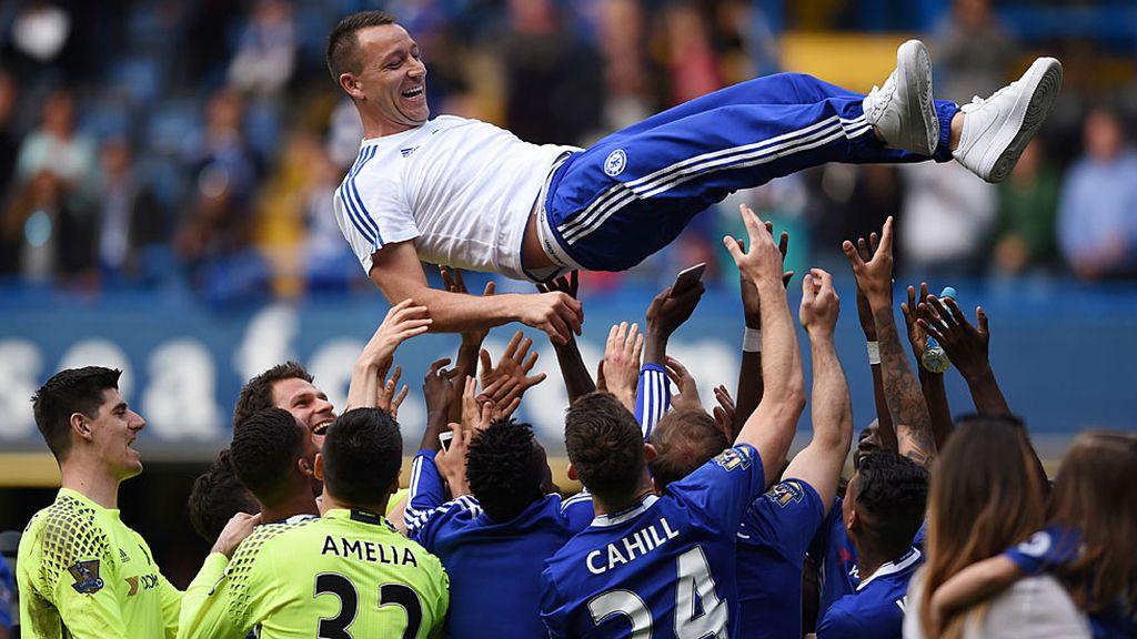 Stamford Bridge brinda una emotiva despedida a John Terry (16/05/2016)