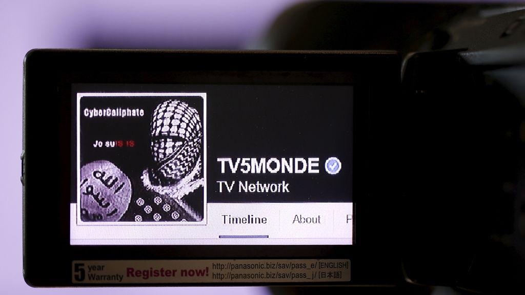 """La cadena francesa TV5 Monde sufre un ataque """"sin precedentes"""" de 'hackers' del EI"""
