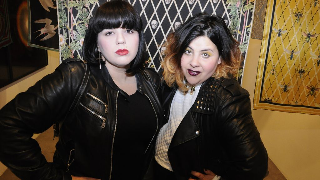Angie Bankhead y Sara Sánchez