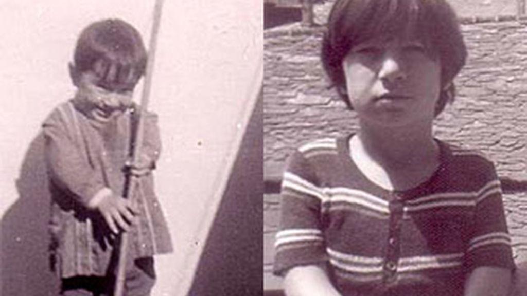 Imágenes de la infancia de Rafael Barrenechea. Foto: AVITE