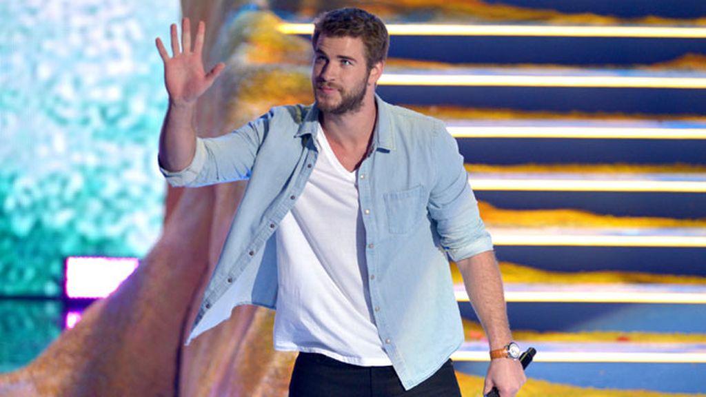 Liam Hemsworth presentó una parte de los Teen Choice
