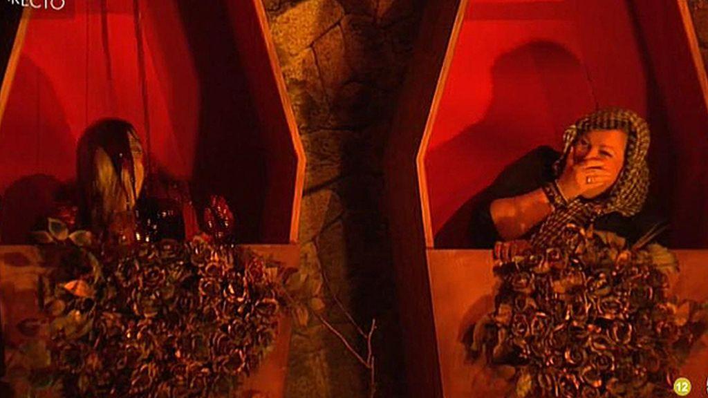 La casa de Guadalix se divide en dos grupos