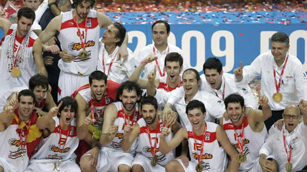 Oro en el Eurobasket
