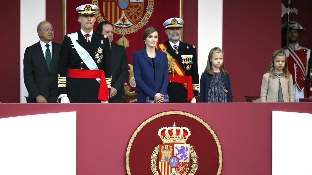 Tercer desfile para Felipe VI y Letizia