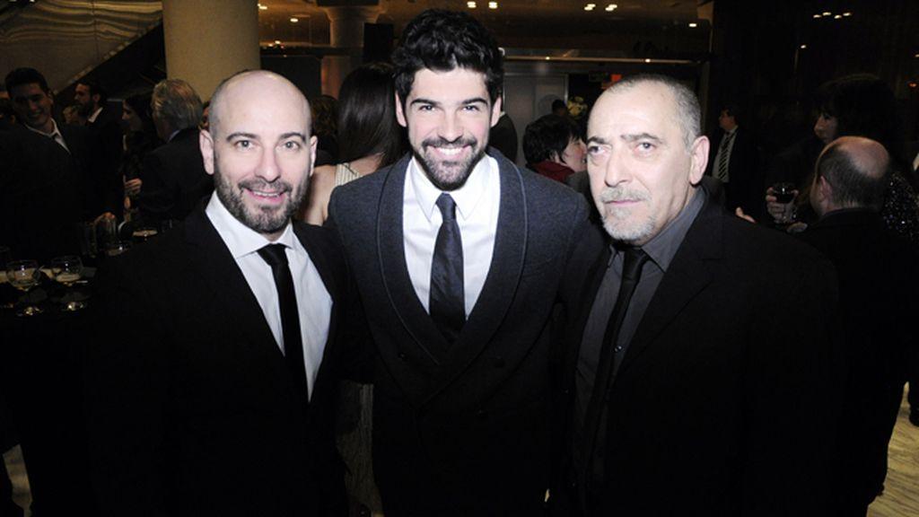 Jaime Ordóñez, Miguel Ángel Muñoz y Enrique Villén