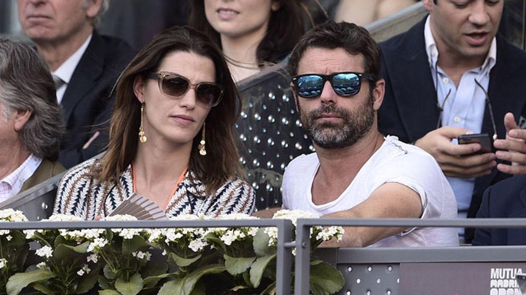 La modelo Laura Sánchez y David Ascanio