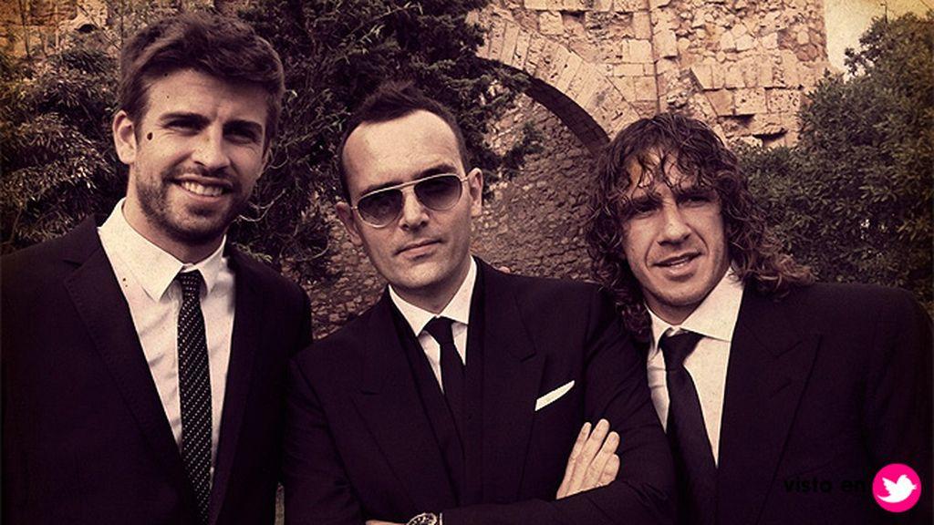 Piqué, Risto y Puyol