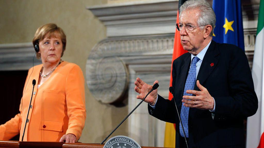 Merkel y Monti
