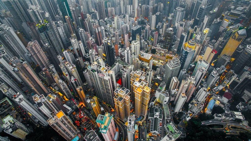 Impresionantes imágenes de una de las ciudades más pobladas del mundo