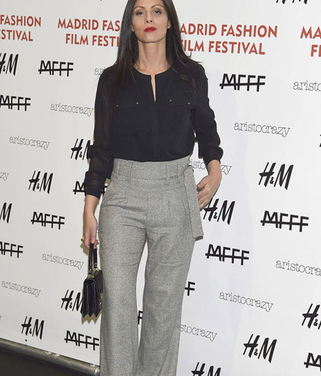 Ana Álvarez acudió a la segunda edición de  la 'Madrid Fashion Film Festival'