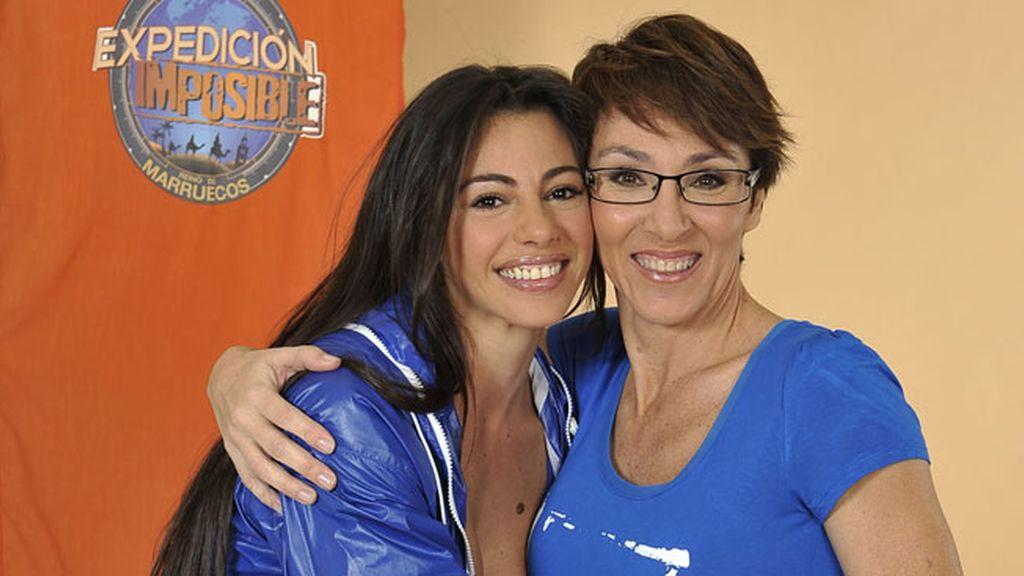 Marbelys y Lola González (EQUIPO AZUL)