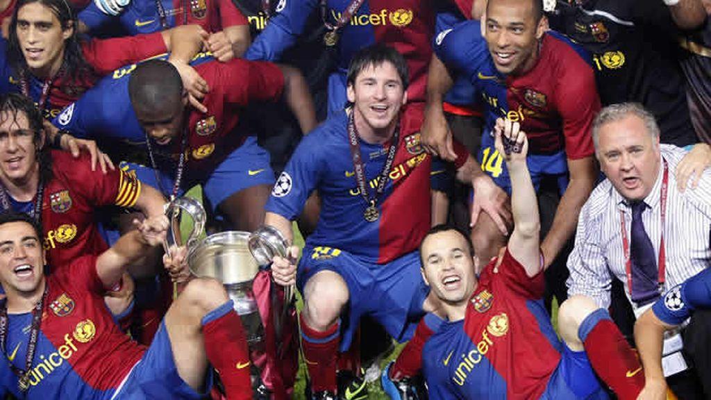Triplete histórico para el Barcelona