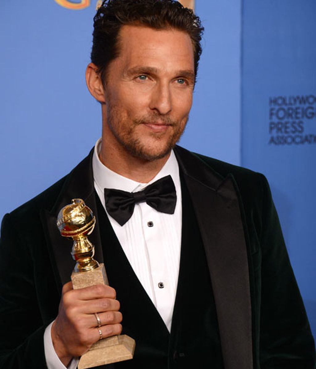 Matthew McConaughey, mejor actor dramático
