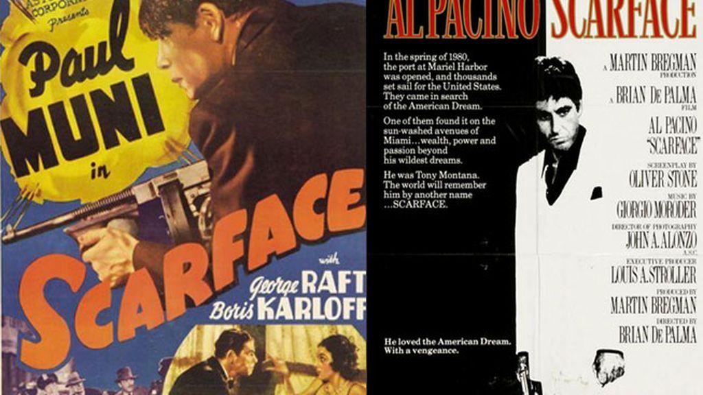 Scarface, el precio del poder (1983) vs Scarface, el terror del Hampa (1932)