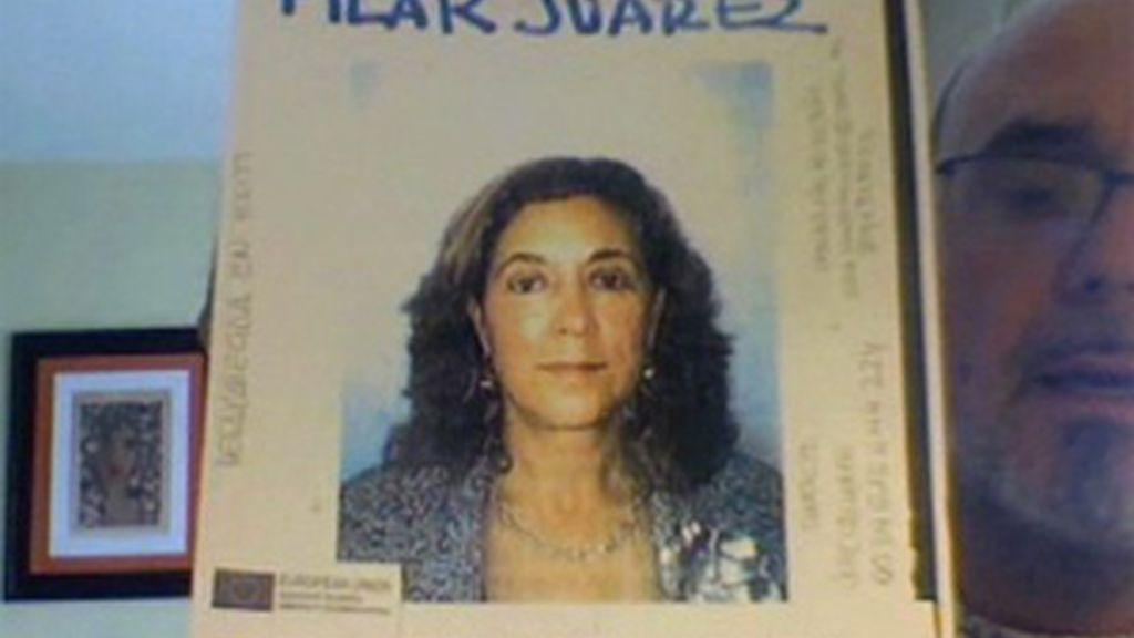 Pilar Juárez, desaparecida en Haití
